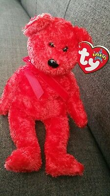 TY Beanie Baby. Sizzle the bear. Mint Condition.