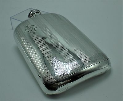 Large Sterling Silver Flask