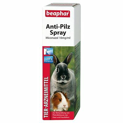 Beaphar -anti-pilz spray-50ml-pilzspray Rodents Rodents Hares Guinea Pig