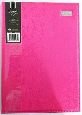 2018 Diary Fancy Cover A4 Week To Page Women's Diary Week To An Opening A4-Pink