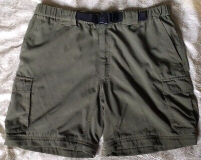 BOY SCOUTS OF AMERICA Mens L Official Uniform Shorts (only) Switchback BSA Green