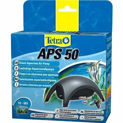 Tetra Air Pump APS 50 Quiet Powerful Aquarium Dark Grey