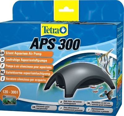 Tetra Air Pump APS 300 Quiet Powerful Aquarium Dark Grey