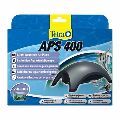 Tetra Air Pump APS 400 Quiet Powerful Aquarium Dark Grey