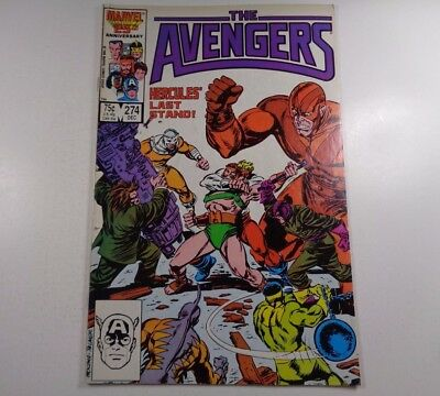 The Avengers #274 Dec. 1986 Marvel Comics