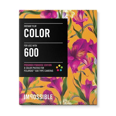 Impossible PRD3289 Color Instant Film (Poison Paradise Edition - Fuchsia) - 600