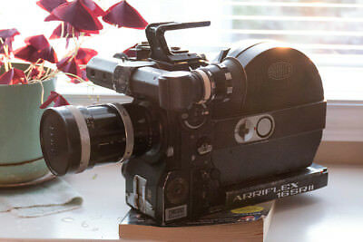 Arri ARRIFLEX 16 SRII / SR2 Camera with Magazine, Lens, and 12 Volt Battery