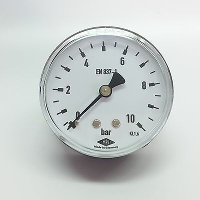 """Manometer ø63mm G1/4 """" Rear All Measuring Ranges - EMPEO - Made in Germany"""