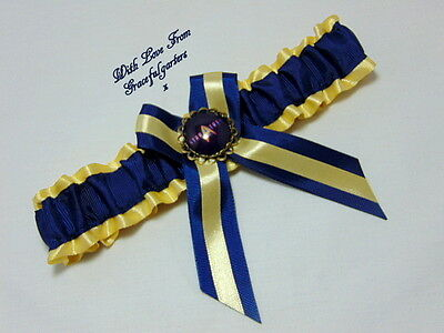 Star Trek Golden Bridal Wedding Garter.