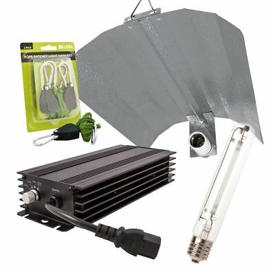 LUMii Black - Digital Dimmable 600w Hps Hydroponic Lighting Kit