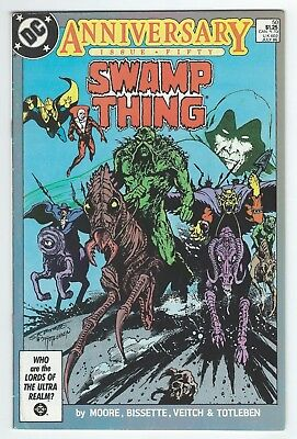 Swamp Thing #50 (Jul 1986, DC) 1st Justice League Dark VF-/VF