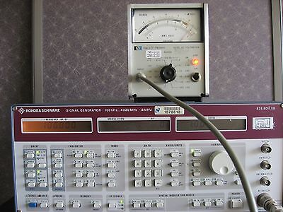 HP400EL AC Voltmeter 10Hz-10MHz  1mV to 300V FULLY TESTED!