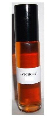 PREMIUM Body/Perfume Oil PATCHOULI 1/3 oz Roll-On Uncut Pure Natural Fragrance