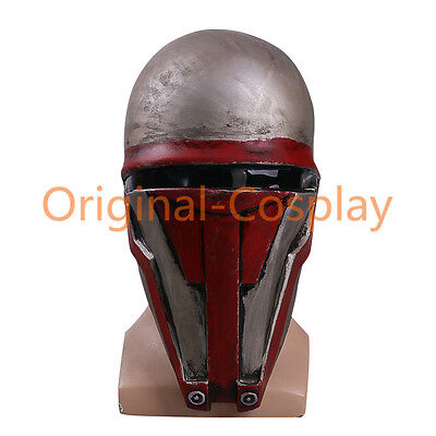 Star Wars Darth Revan Mask The Revanchist Helmet Cosplay Halloween Latex Mask