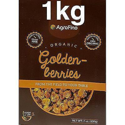 Agrofino Organic Golden Inca Berries 1Kg