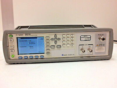 Agilent HP N4010A Wireless Connectivity Test Set with 101 103 110 Bluetooth WLAN