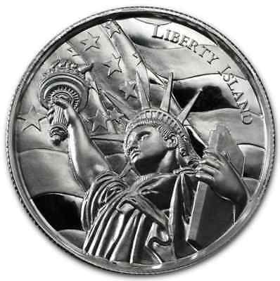 2 oz silver coin American Landmarks - Statue of Liberty Ultra HR Elemetal Mint