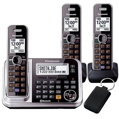 Panasonic Dect 6 Digital Cordless Triple Handset Answering System  Kx-Tg7893Azs