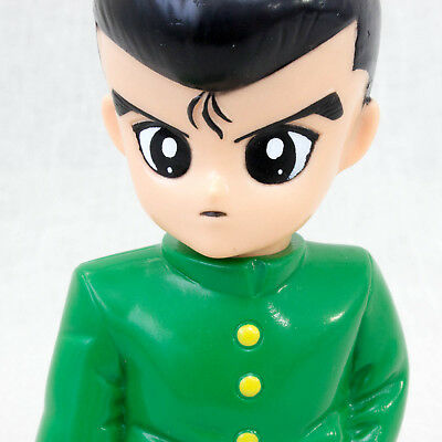 "Yu-Yu Hakusho Yusuke Urameshi Mascot 5"" Figure Coin Bank JAPAN ANIME MANGA"