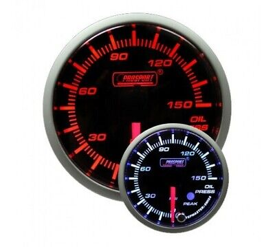 ProSport 52mm Electrical 'Premium' Oil Pressure Gauge - Amber/White