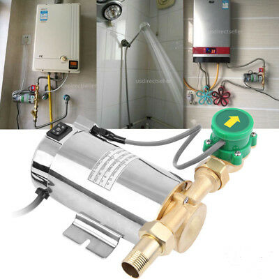 90W 110V Stainless Automatic Home Shower Washing Machine Water Booster Pump