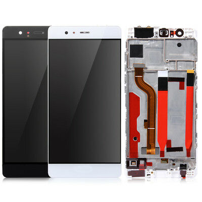 For Huawei P9 LCD screen display touch Digitizer Replacement With Frame