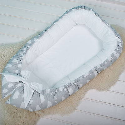 Baby double-sided pod Nest for newborn co sleeper, sleep bed, cot, snuggle nest