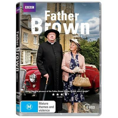 BRAND NEW Father Brown : Series 5 (DVD, 2017, 4-Disc Set) *PREORDER R4