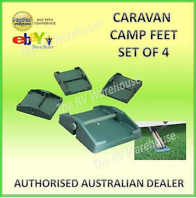 Jack-A-Pad Camp Feet Stabilizer x 4 Caravan Parts Accessories