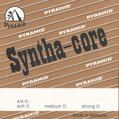 PYRAMID Syntha-core 4/4 Violin Strings SET, E-ball, in 3 Strengths