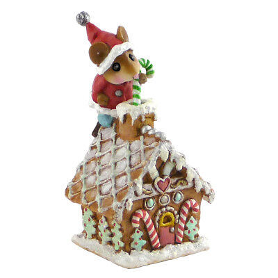 Wee Forest Folk Christmas - Wee Santa's Gingerbread House TM-4