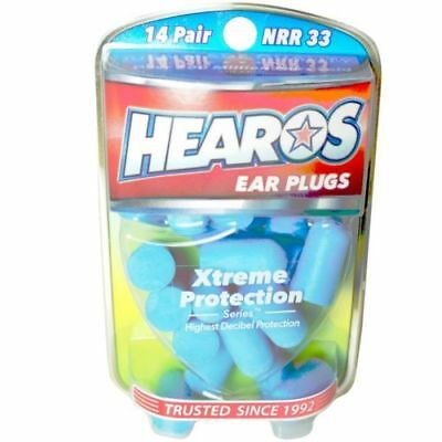 Hearos Ear Plugs - Xtreme Protection Series, 14 Pairs