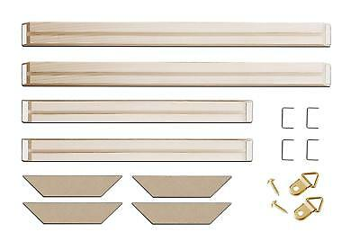 Wood Frame Stretcher Bars Stretching Strips For Canvas Print Picture/Photo