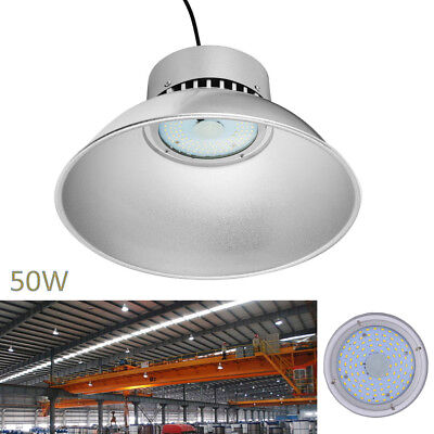 50W LED High Bay Light Warehouse Industrial Factory Lamp Gym Shed Light 5000LM