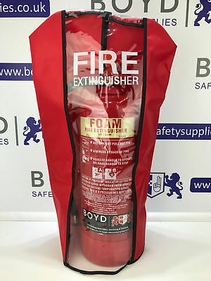 Fire Extinguisher Cover-Powder,Foam,Water,Co2 - Large/Medium 1-9 kg/litre
