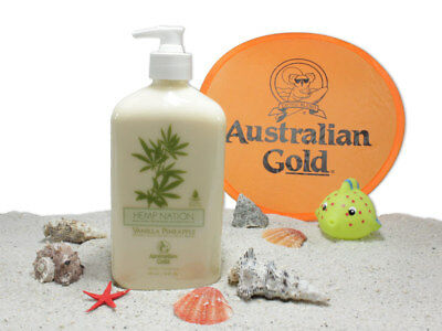 46,54€/1L Australian Gold - Hemp Nation Vanilla Pineapple - after Sun - 535ml