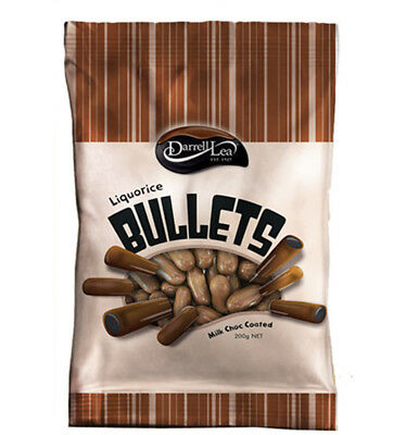 Darrell Lea Chocolate Bullets 200g x 14