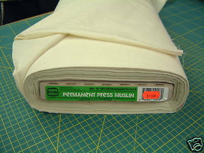 Permanent Press Calico 100% Cotton Unbleached Preshrunk