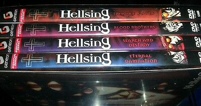 Hellsing Anime collector DVD full set