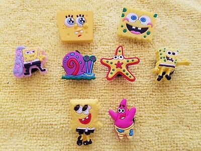 OCTONAUTS shoe charms//cake toppers! FAST FREE USA SHIPPING! Set of 8!
