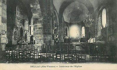 87 Bellac Interieur Eglise