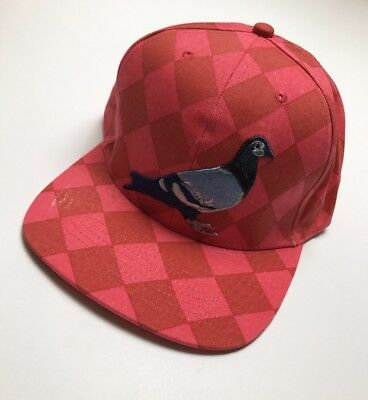 843d68eeb2abd Staple Argyle Pigeon Snapback 1708X3983 Red 2017 Brand New WithTags