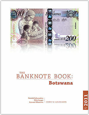 Botswana chapter from new catalog of world notes, The Banknote Book