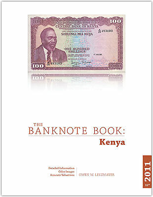 Kenya chapter from new catalog of world notes, The Banknote Book