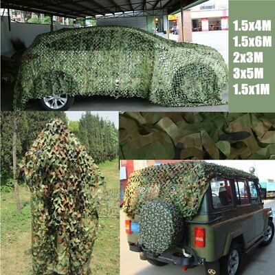 Camouflage Netting Military Army Camo Hunting Shooting Hide Cover Net DS