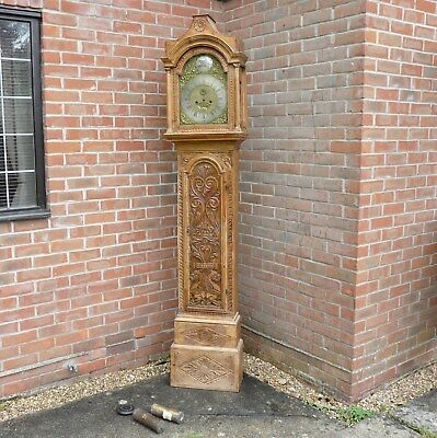 Pine Longcase Grandfather Clock By Joseph Rose London C1750 For Restoration