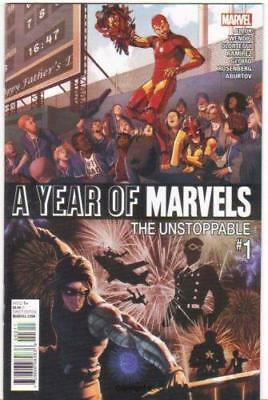 A Year Of Marvels: The Unstoppable #1 (2016) 1St Printing Marvel Comics