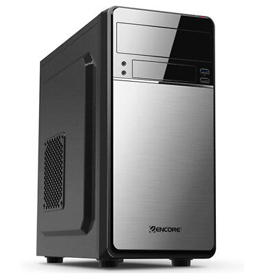 Case PC Micro ATX ENCORE EN-MATX-101 V2 USB 3.0 Cabinet Middle tower NO PSU