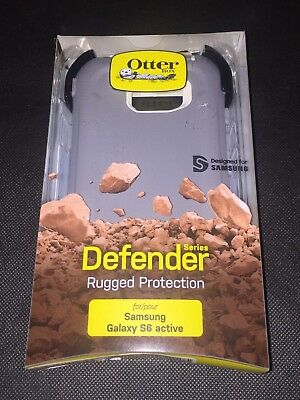 OtterBox Defender Series Case For Samsung Galaxy S6 Active (Gray) - New In Box