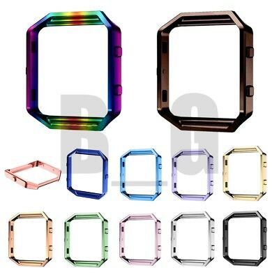 Replacement Stainless Steel Metal Frame Holder Shell Case For Fitbit Blaze Watch